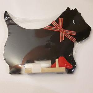 Scottie Dog Black Board Chalk Board Cute!!
